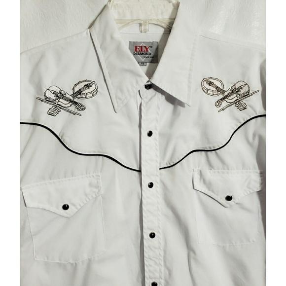 e2cbd5ec5cd Vintage Shirts | Ely M Pearl Snap Western Shirt Rockabilly | Poshmark